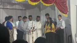 Annual Day inauguration by Jacob Job IPS ,Bhagyalakshmi and Sidharth Prabhu